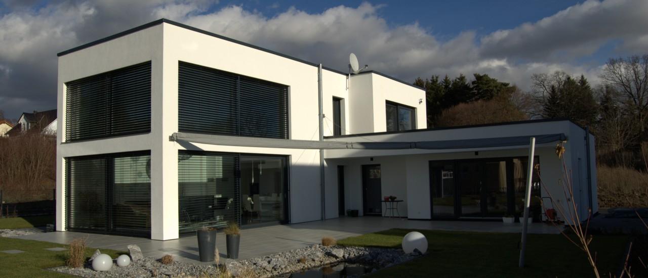 hochmoderne Bauhausvilla